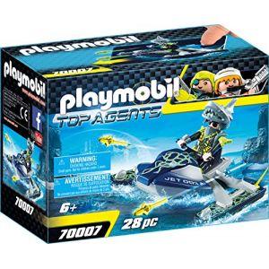 Playmobil 70007 - Scooter marin Shark Team