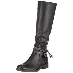 Marco Tozzi 25612-21, Bottes Hautes Femme, Noir (Black Ant.Comb 096), 39 EU
