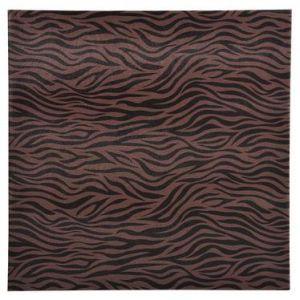 Exacompta 16004E - Album photos Zebra 25x25 cm, 30p. noires/60 photos, reliure livre, noir/brun