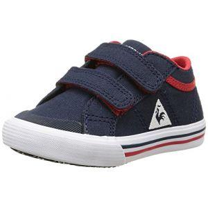Le Coq Sportif Saint Gaetan Inf CVS, Sneakers Basses Mixte Enfant, Bleu (Dress Blue), 21 EU