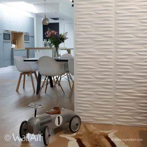WallArt Panneaux muraux 3D 12 pièces Valeria