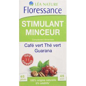 Floressance Stimulant Minceur - 45 gélules café vert, thé vert et guarana