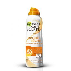Garnier Ambre Solaire - Brume protectrice toucher sec sèche FPS 50