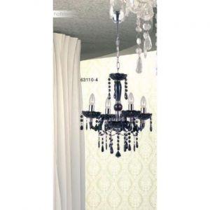 Globo Lustre suspension luminaire plafond noit chrome salle de séjour éclairage E14