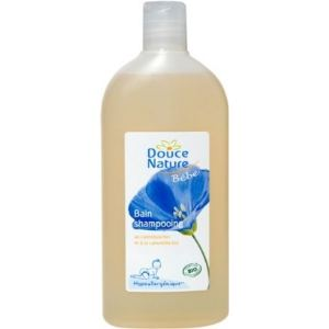 Douce Nature Bain shampooing au calendula bio et à la camomille bio - 300 ml
