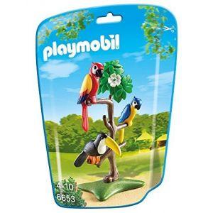 Playmobil 6653 City Life - Perroquets et toucan