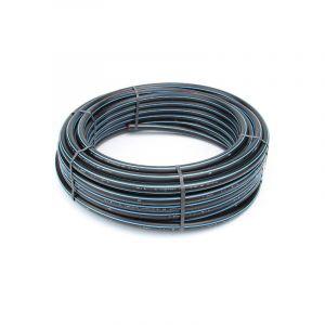 Mr Plomberie Tube polyethylene hd bande bleue pour adduction d eau potable - POLYPIPE MP