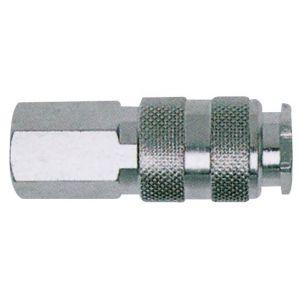 Mecafer Coupleur universel rapide métal - 1/4 F