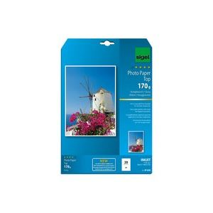 Sigel 20 feuilles de papier photo Top 210g/m² (A4)