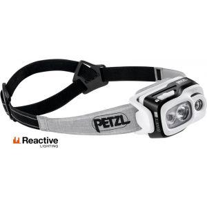 Petzl Swift RL - 900 lumens Lampe frontale / éclairage Noir - Taille TU