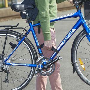 Mottez Poignée de transport pour vélo