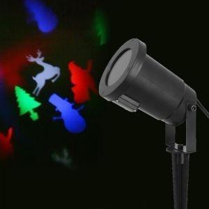 Projecteur LED de Noël - 4 Design - Multicolore