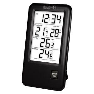 La Crosse Technology WS9068IT - Station de température avec sonde piscine