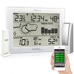 La Crosse Technology Technoline Mobile alerts Station météo avec Gateway, Blanc, Ma 10006