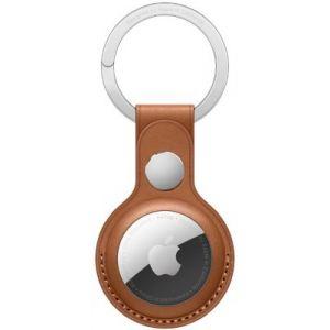 Apple Porte-clés AirTag porte-clés Cuir marron