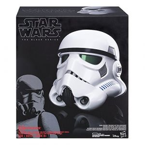 Hasbro Star Wars Black Series Casque Stormtrooper avec modificateur de voix (Taille unique)