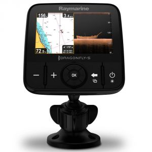 Raymarine Dragonfly 5 Pro W/o Chart Chirp Downvision - GPS marin