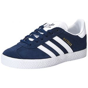Adidas Gazelle C, Chaussures de Fitness Mixte Enfant, Bleu (Maruni/Ftwbla 000), 35 EU