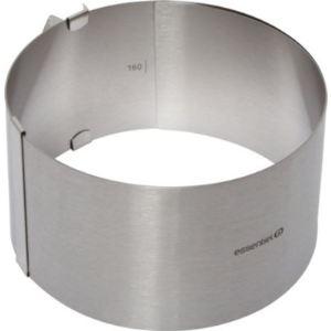 EssentielB 1005869 - Cercle pâtisserie ajustable MM (16 à 30 cm)