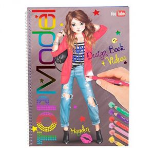 Kontiki Top Model - Album de coloriage connecté école de styliste