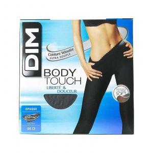 DIM Collant Body Touch liberté & douceur - Collant opaque 40 deniers - gris