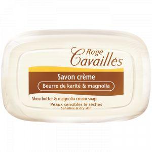 Rogé Cavaillès Savon crème - Beurre de karité et magnolia