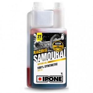 Ipone Huile 2T Samourai 100% synthetique (1L)