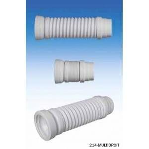 Ceta Pipe d'évacuation WC - Souple - diam. 100-110 mm