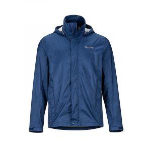 Marmot PreCip Eco Jacket Imperméable, Veste de Pluie Homme, Hardshell, Coupe Vent, Respirant, Arctic Navy, S