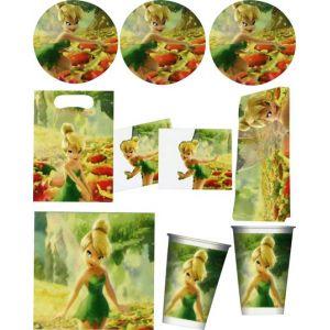 6 cartes d'invitation Clochette et ses amies