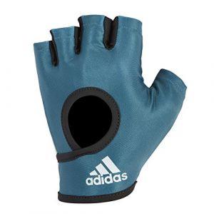 Adidas Essential Gants d'entraînement Femme, Bleu Pétrol, Taille L
