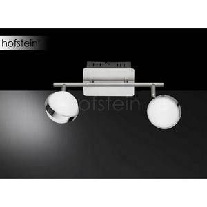 Wofi Suspension 2 lampes led Monde Nickel Mat /chromé Métal 7241.02.54.6000