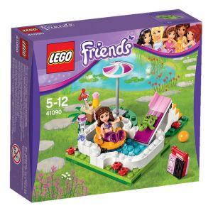 Lego 41090 - Friends : La piscine dans le jardin d'Olivia