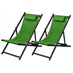 Calvi - Chaise longue (lot de 2)