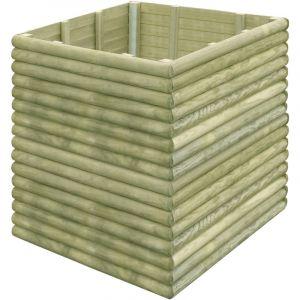 VidaXL Jardinière 206 x 106 x 96 cm bois de pin imprégné