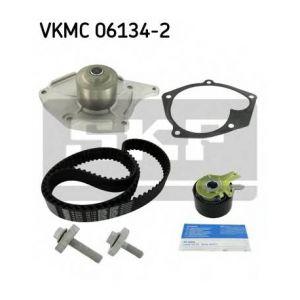 SKF Kit de distribution avec pompe à eau VKMC061342