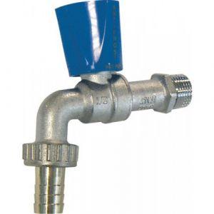 sferaco Vanne puisage laiton nickel antigel 1/2 sortie 3/4'' manette bleue