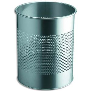 Rossignol (collecte déchets & hygiène) Corbeille à papier Smead en métal ajourée (15 L)