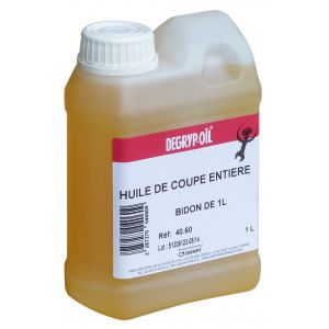 Degryp'Oil HUILE COUPE ENTIERE BIDON 1L