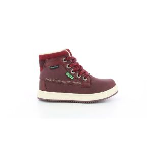 Kickers Yepo WPF, Sneakers Haute Fille, Violet, 34