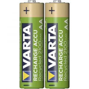 Varta Recycled Ready to Use Accu LR06 (AA) NiMH 2000 mAh 1.2 V 2 pc(s)