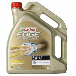 Castrol Huile Moteur Edge Turbo Diesel 5w-40 Fst (5l) - Neuf