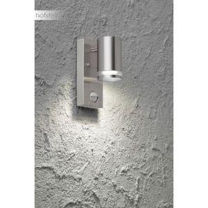 Wofi Applique murale d'extérieur GENTARA Acier inoxydable, 1 lumière - Moderne - Extérieur - GENTARA - Délai de livraison moyen: 6 à 10 jours ouvrés. Port gratuit France métropolitaine et Belgique dès 100 €.