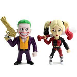 Jada Suicide Squad Pack 2 Metals Figurines Diecast Joker & Harley Quinn 10 cm