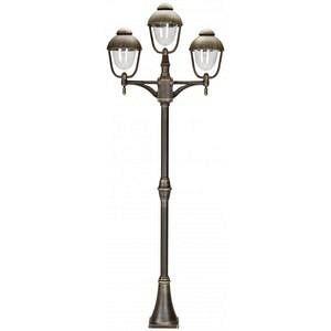 Albert Leuchten Lampadaire 698 marron à 3 lampes