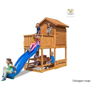 Fungoo Aire de jeux My House Free time Beach rouge