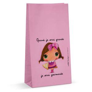 Label'tour 6 sachets à bonbons en papier Collection Petite Gourmande
