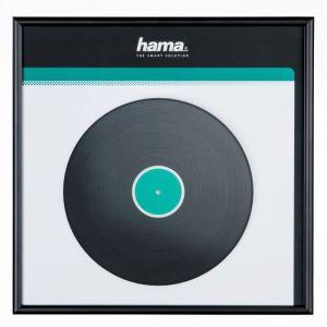 Hama LP Cover Frame, Aluminium, Black, 31.5 x 31.5 cm