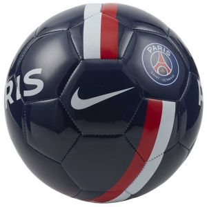 Nike PSG Supporters Soccer Ball Ballons entraînement Football Unisex-Adult, Midnight Navy/University Red/Gold, 5