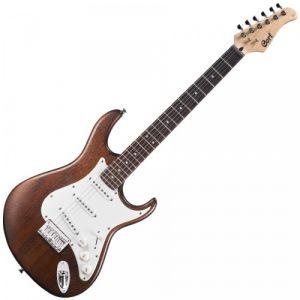 Cort G100OPW Guitare Electrique Pores Ouverts Noyer